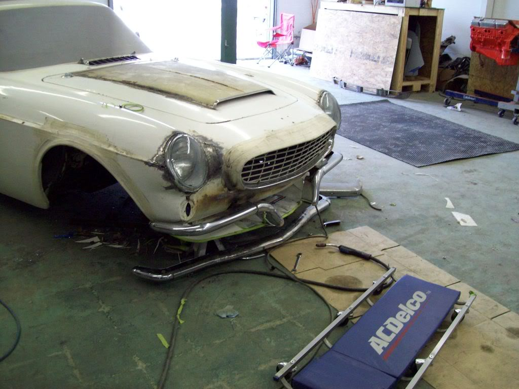 Volvo P1800 body work