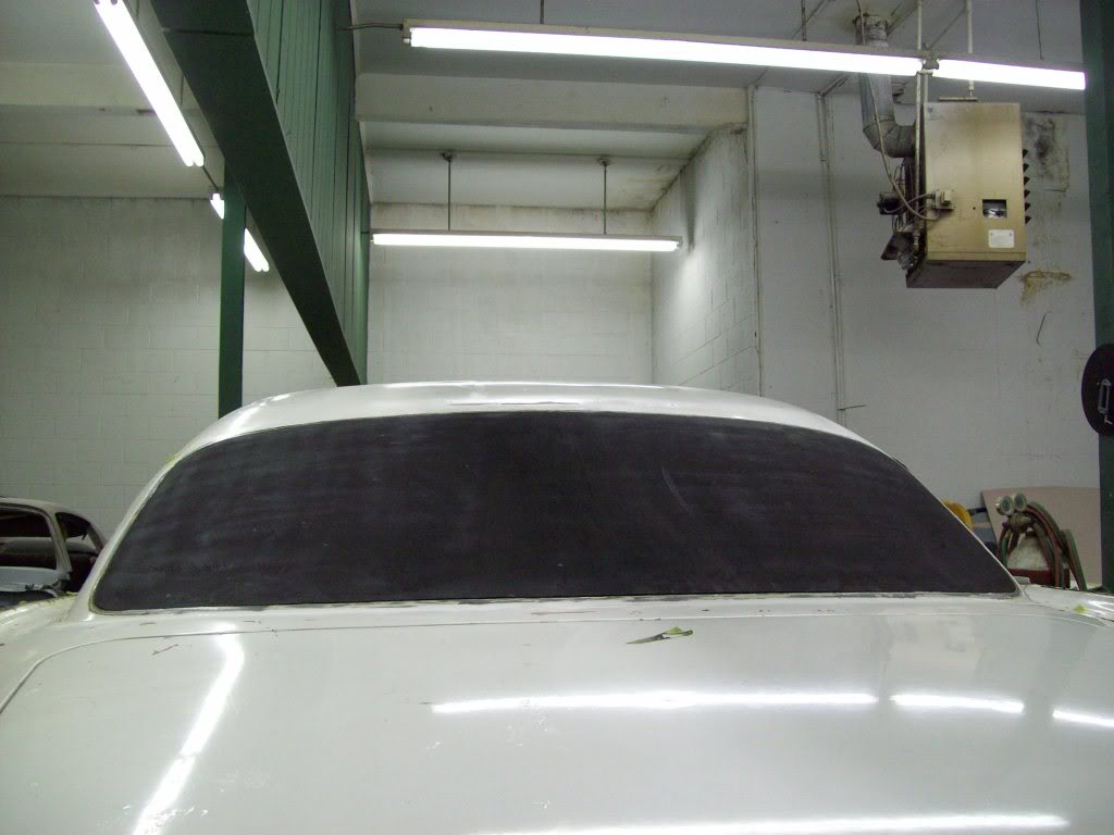 Volvo P1800 shaved rear window