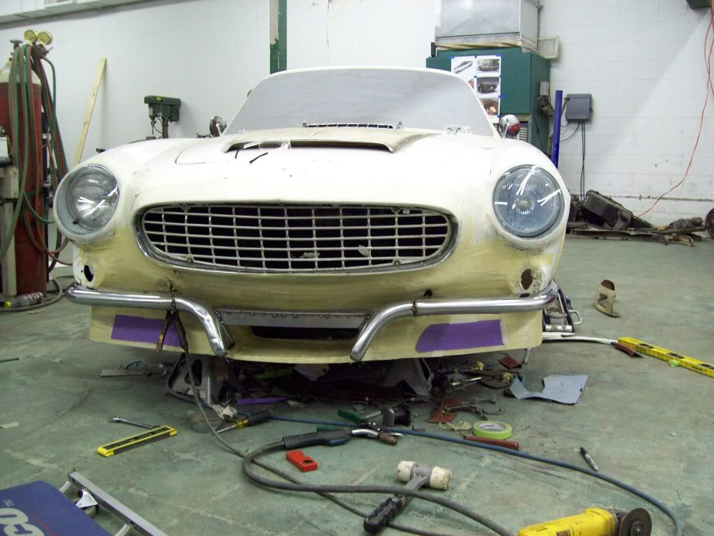 Volvo P1800 custom work