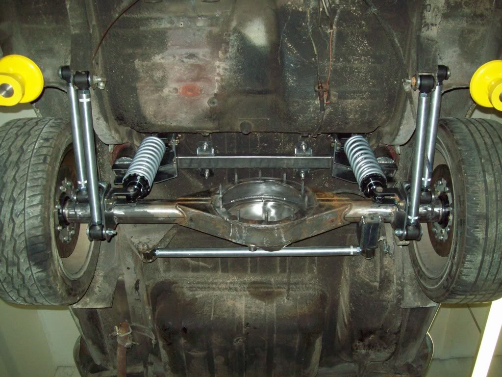 Volvo P1800 rear axle