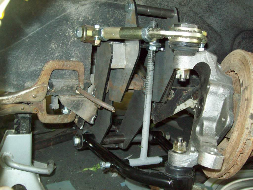 Volvo P1800 suspension