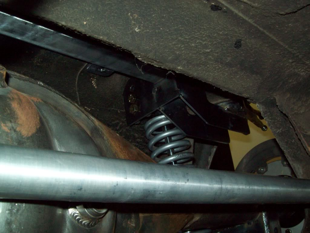 Volvo P1800 rear suspension