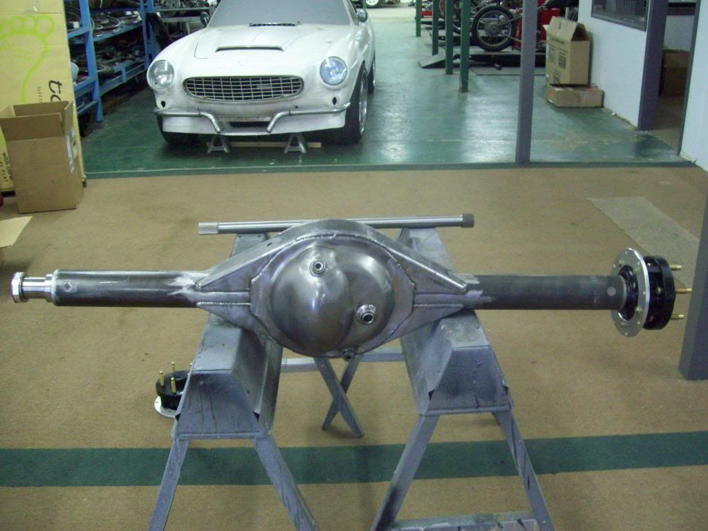 Volvo P1800 differential