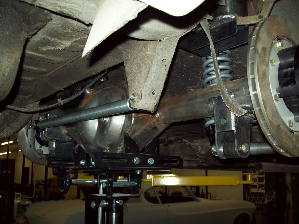 Volvo P1800 rear differential