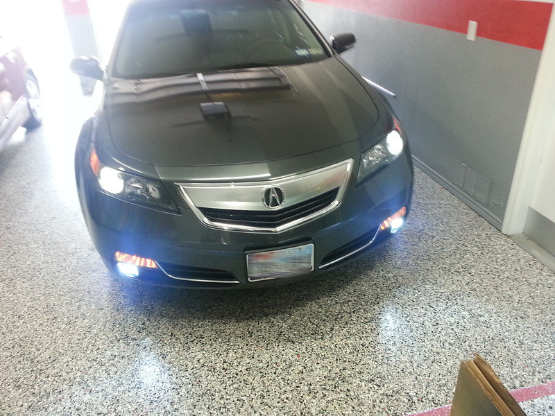 HowTo Replace HID Bulbs In Headlights On Th Gen TL By Pimpintl - 2004 acura tl hid bulb