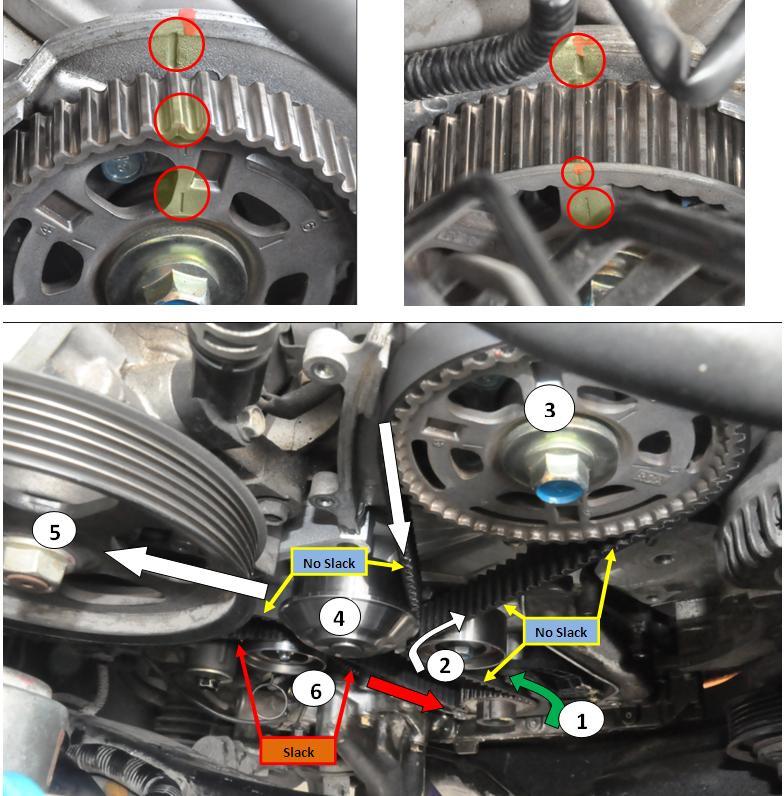DIY - 105k Service: Timing Belt, Water Pump, Spark Plugs, Thermostat