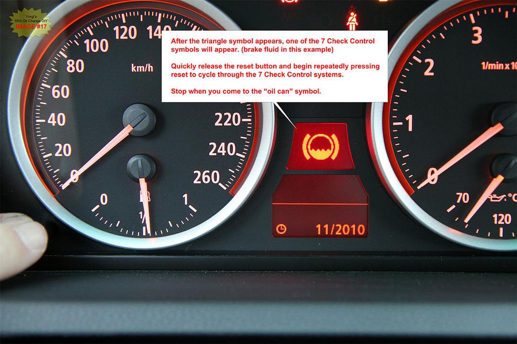 Bmw 650i 645ci E63 E64 Oil Change And Check Control