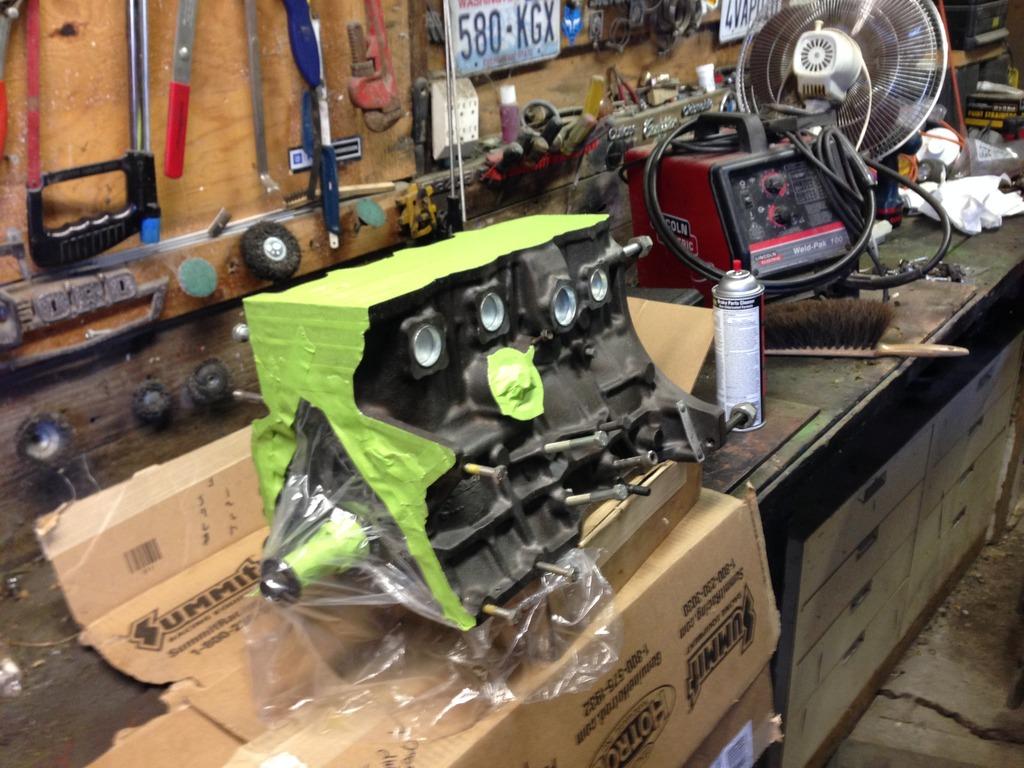 5sgte Engine Build Beams Black Top Head Cnc Ported By Cuttyman9
