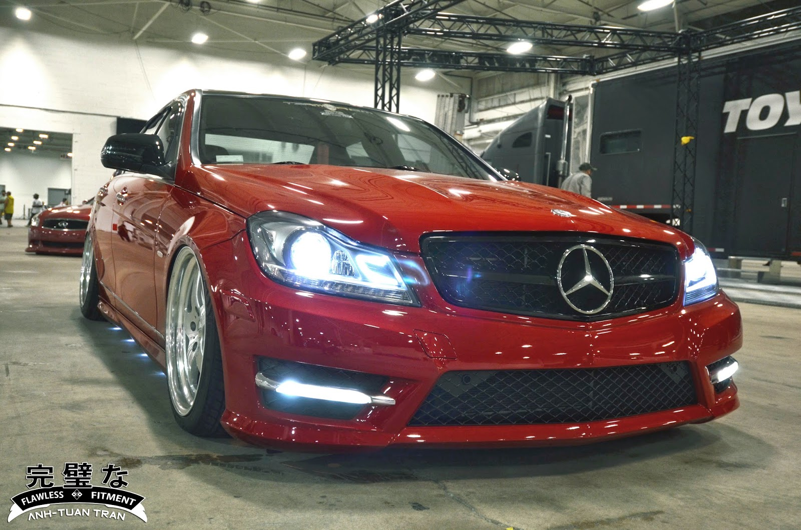 mercedes front end conversion by lawlessfitment com mercedes