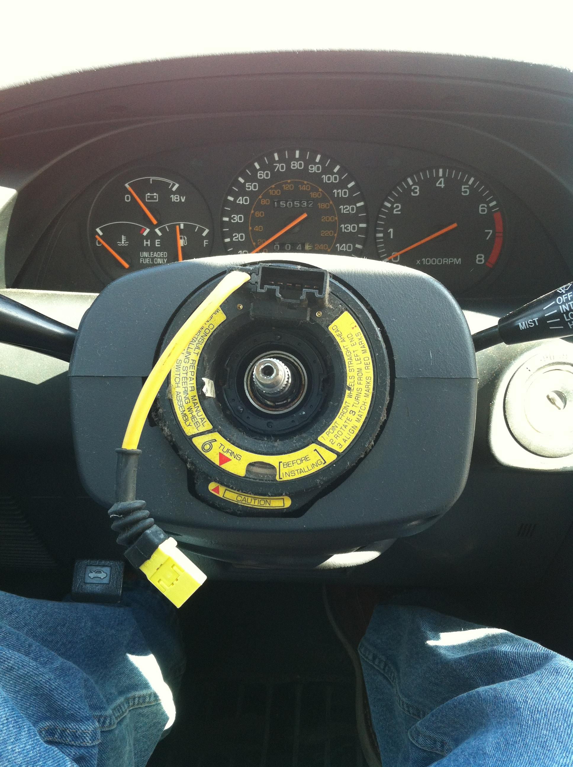 how to clean steering wheel