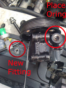 How Much Is A Power Steering Pump >> How To Svt Zetec Power Steering Pump Line Replacement