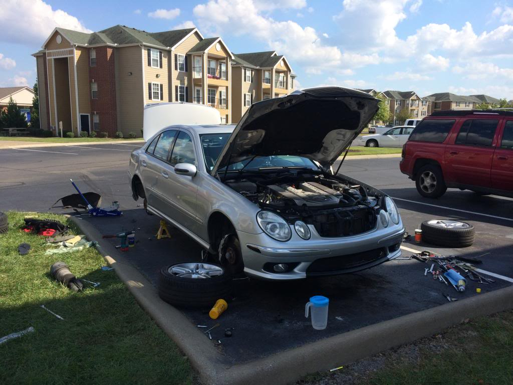My E55 DIY Coilover install With Step by step by AutoLuxury