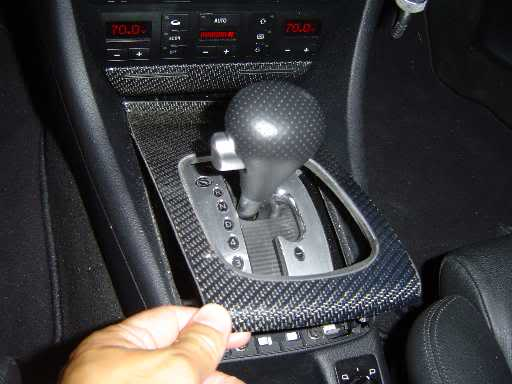 Tiptronic paddle-shift steering wheel install <very very long> by ...