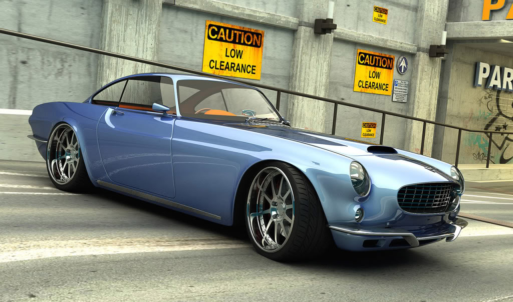66 Volvo P1800 Custom Build