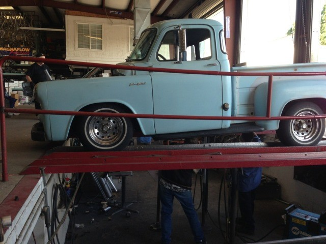 1954 1960 dodge d100 with mustang ii front suspension by 1972 dodge truck 1954 1960 dodge d100 with mustang ii
