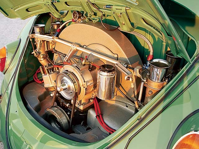 air cooled VW Beetle engine