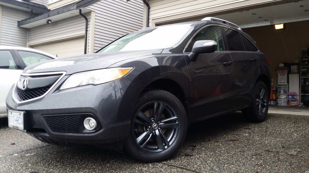 Wheels Color Change Plastidip Adventure By Acura Acura Diys - 2018 acura rdx rims