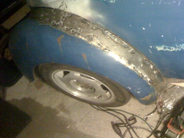 VW Beetle custom fenders