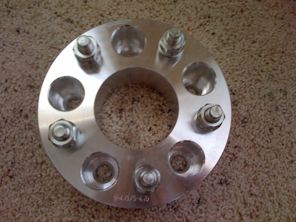2 inch aluminum spacers