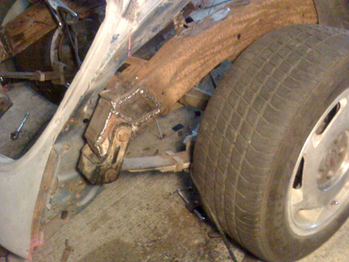 leaf springs on VW Beetle