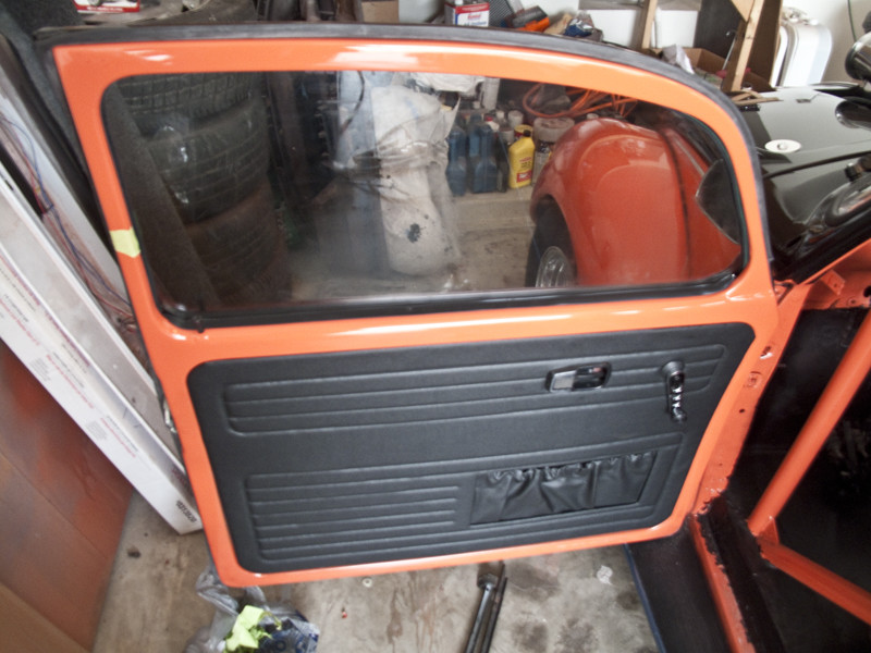 VW Beetle door