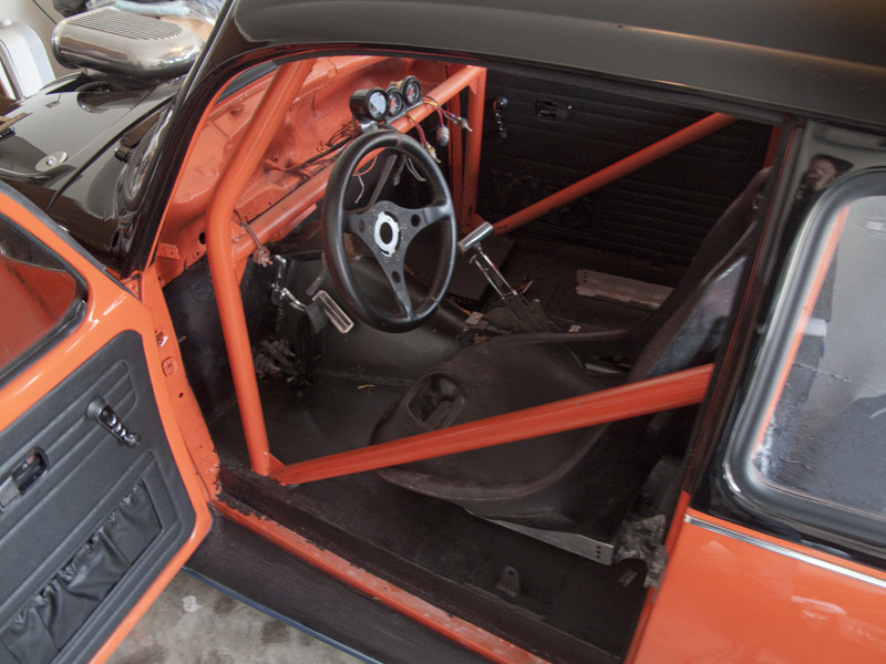 V8 VW Beetle interior