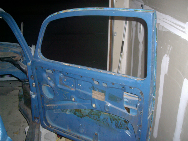 VW Beetle bare door