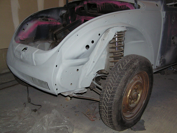 VW Beetle rear fab