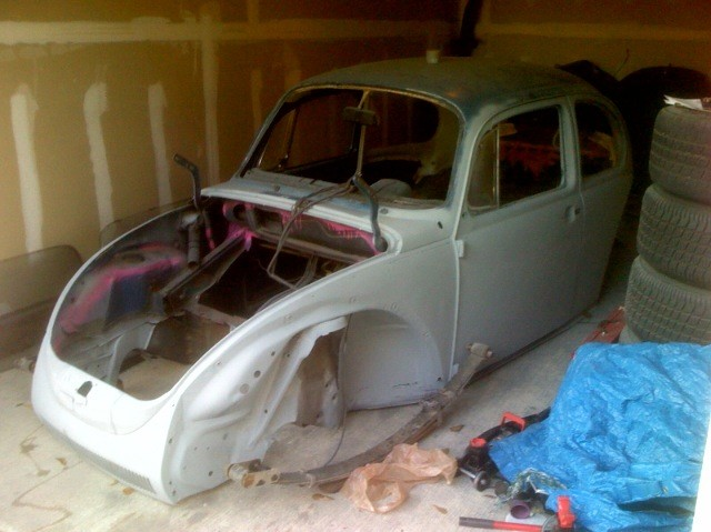 VW Beetle shell