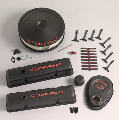 Chevrolet engine accent covers