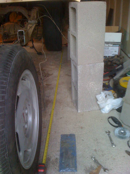 modifying wheel base