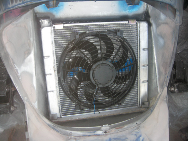 radiator and fan