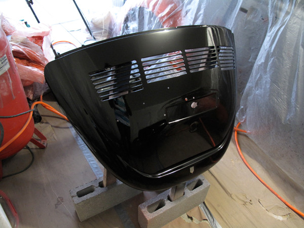 VW Beetle boot lid