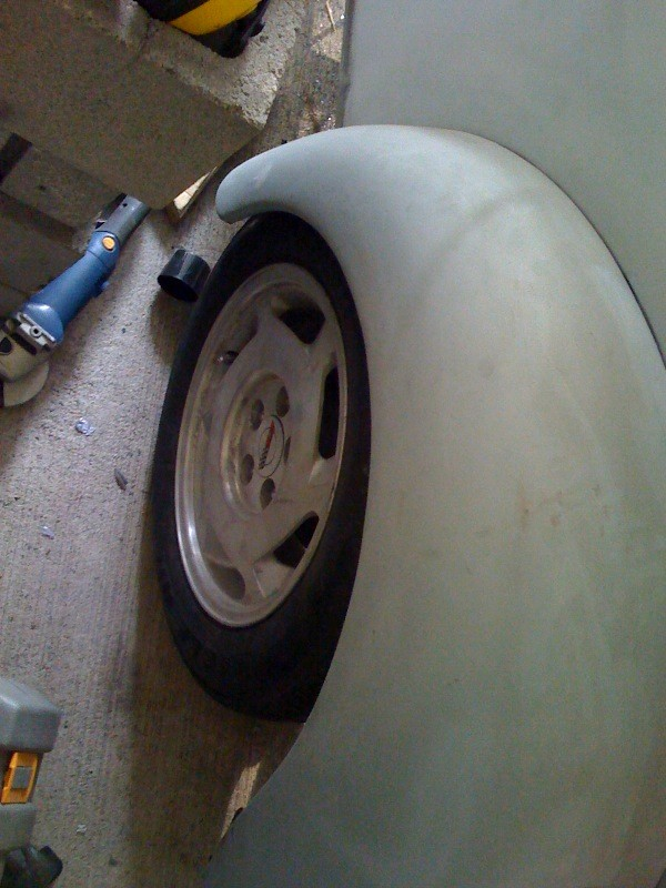 VW Beetle fender