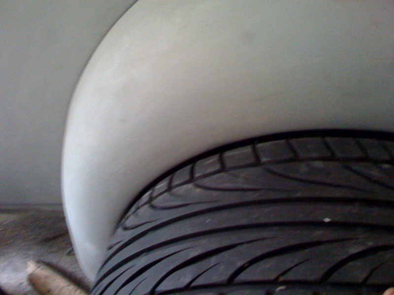 wheel and fender gap