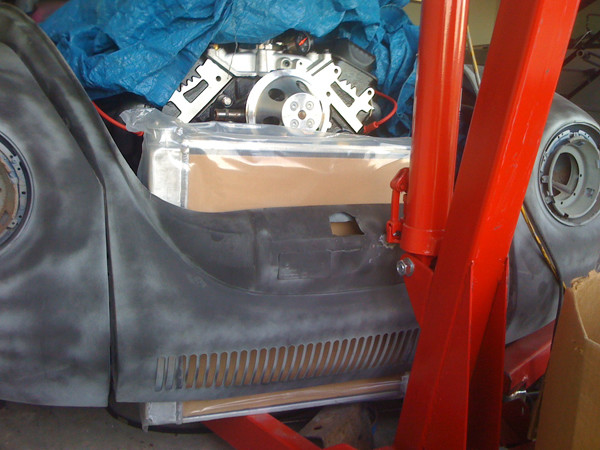 V8 VW Beetle radiator