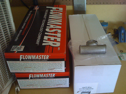 Flowmaster 40 series exhaust